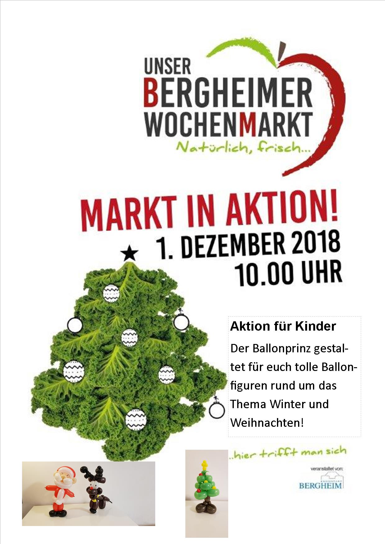 """Markt in Aktion"" am 01.12.2018"